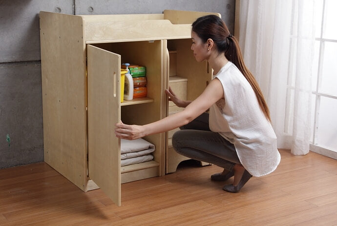 Ease Wooden Baby Changing Unit