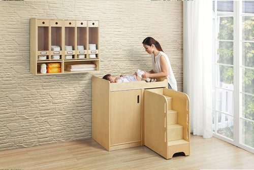 Ease Wooden Change Storing Unit