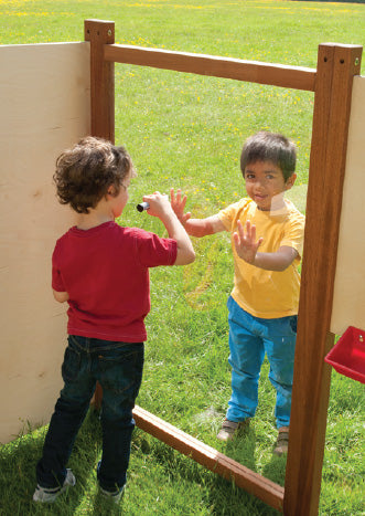 Outdoor Play Panel - Clear Markmaking