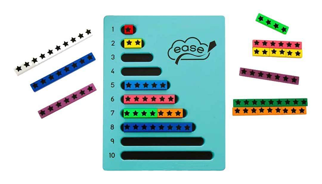 TTS Colourful Number Frames Bundle Pack