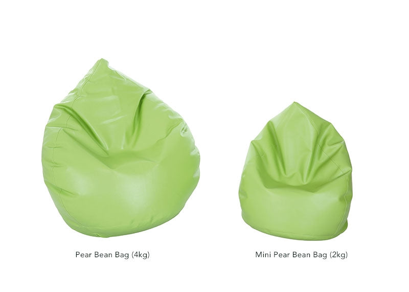 Pear Bean Bags (Orange)