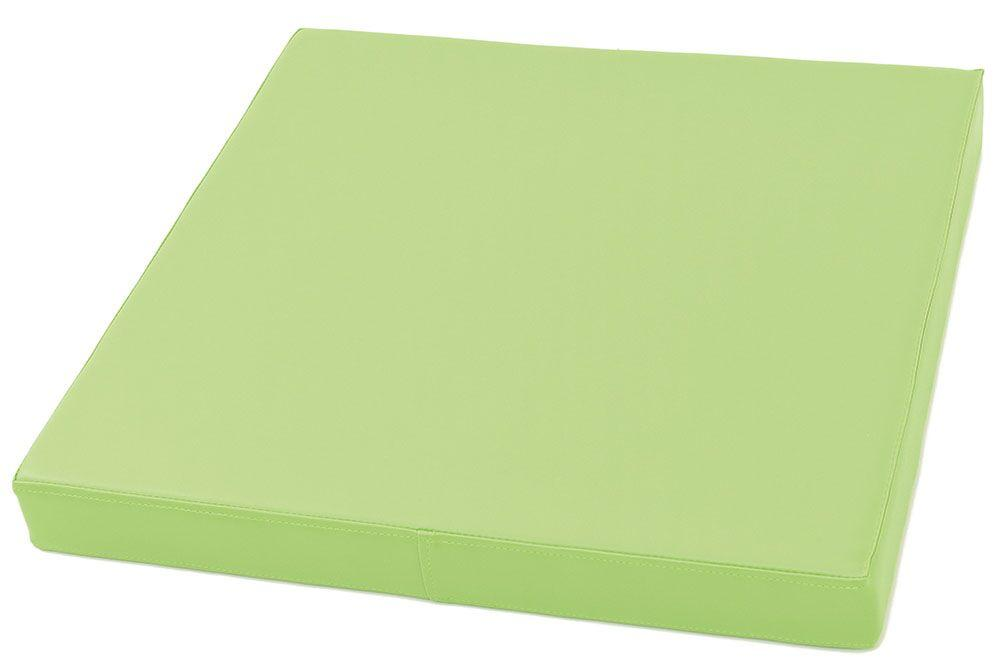 Square mattress - green