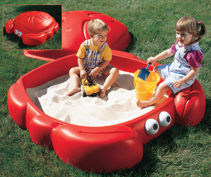 Crabbie Sandbox With Lid