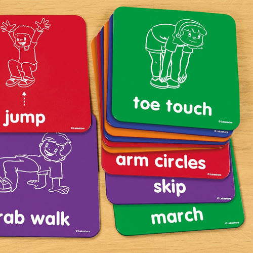 Lets Get Moving! Activity Mats