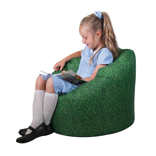 Grass Printed Childrens Bean Bag
