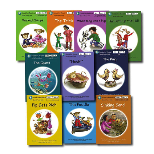 Dandelion Phonic Readers Book Series Two 1-10