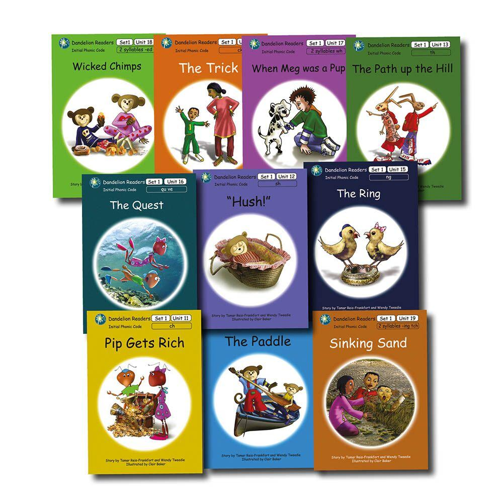 Dandelion Phonic Readers Book Series One 11-20