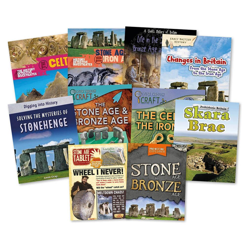 Stone, Bronze and Iron Age Books 10pk