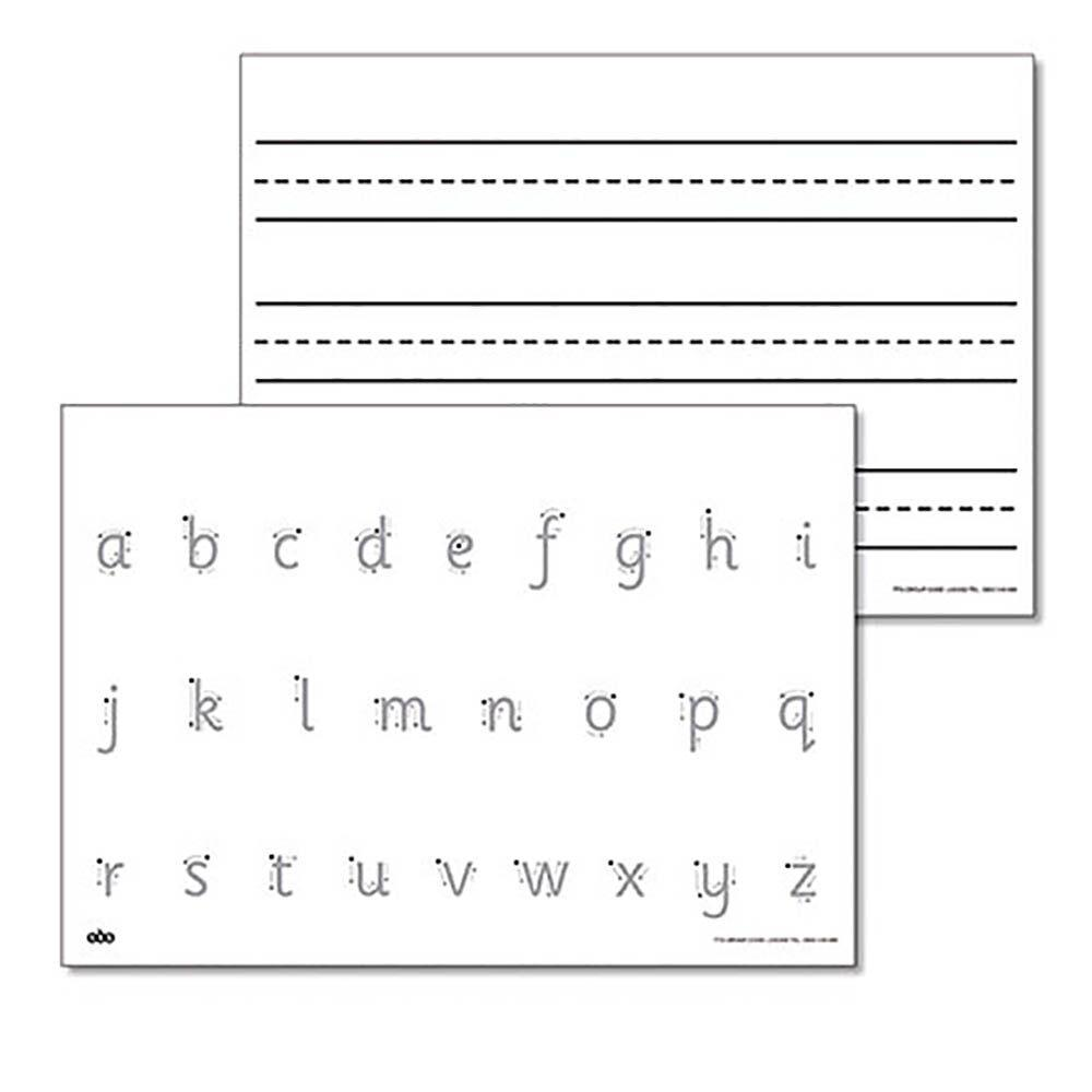 A4 Double Sided Handwriting Drywipe Board 6pk