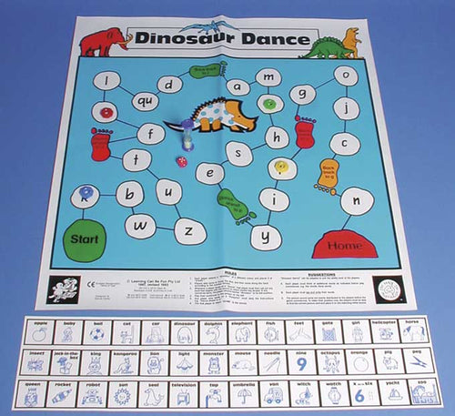 Dinosaur Dance Floor Game