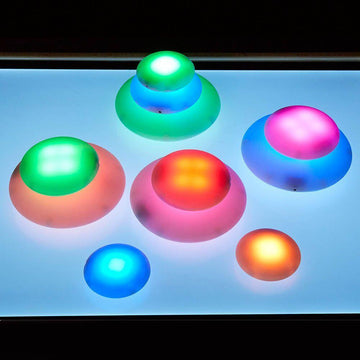 Illuminated Sensory Glow Pebbles 12pcs