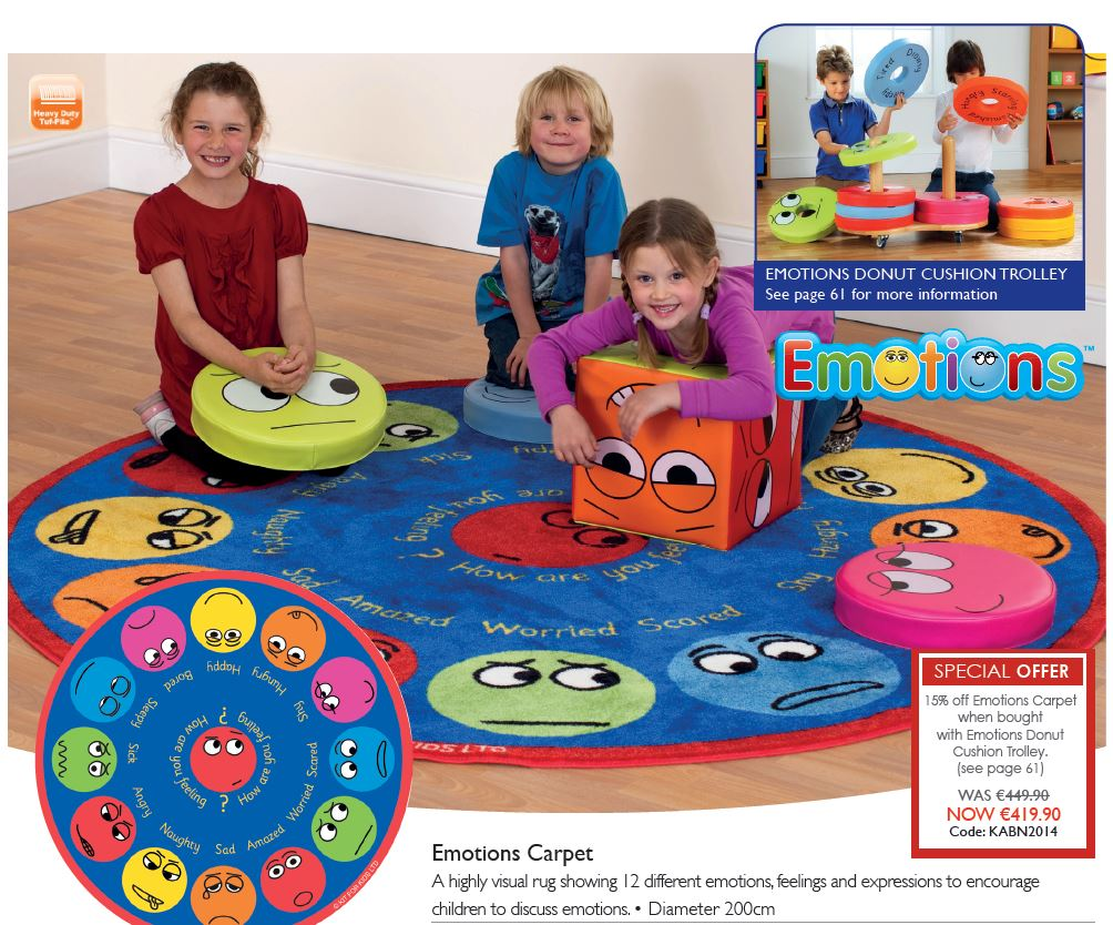 Special  Offer Emotions Carpet & Donut Trolley