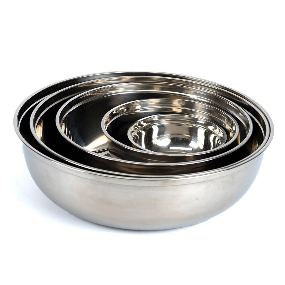 Metal Nesting Bowl Collection 5pcs