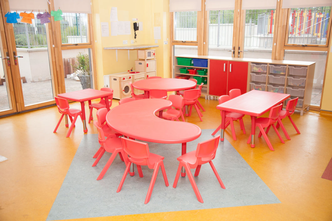 EASE Classroom with Plastic Chairs - All Heights