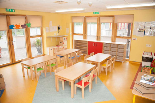 EASE Classroom with Timber chairs 30cm