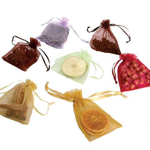 Drawstring Sensory Aroma Bags Assorted Smells 7pk