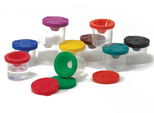 Non-Spill Paint Pots ( Set of 10)