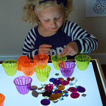 Lightbox Activity Clever Cups Set 20