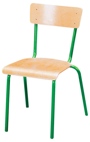 Steel Chair - Green 43cm