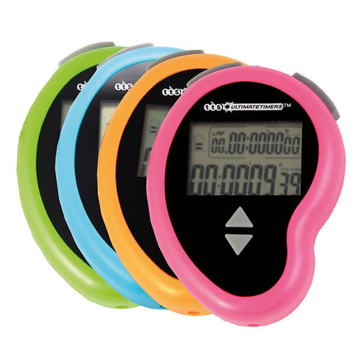 Rechargeable Stopwatches with Lap Function 16pk