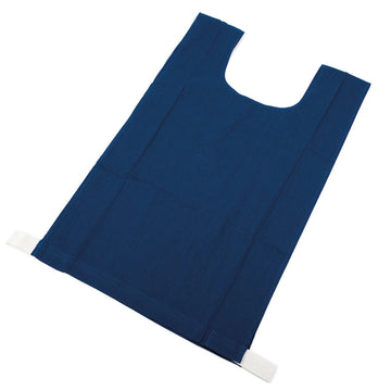 Cotton Bib Set Blue 10pk