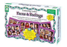 Listening Lotto: Faces And Feelings