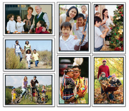 Family Celebrations & Holidays Learning Cards