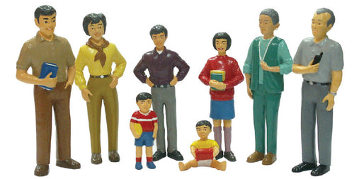 Family Figures- Asian Family