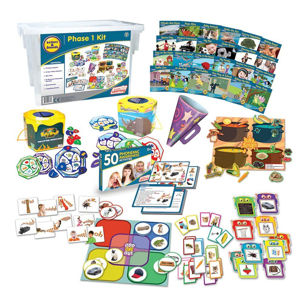 Budget Phonics Kit  Phase 1