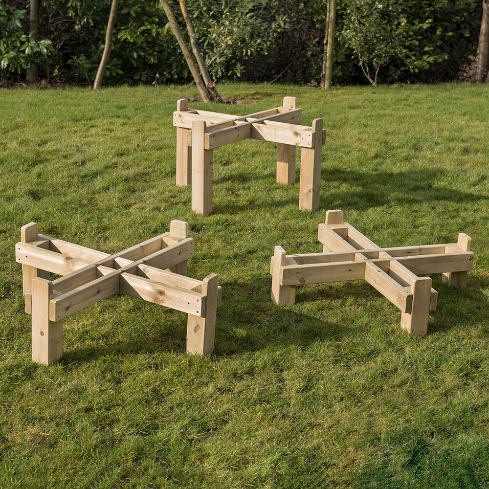 Outdoor Wooden Frame for Active World Trays