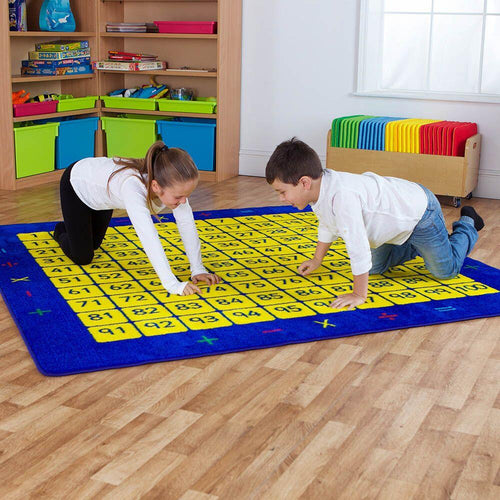 Giant 100 Number Squares Mat 200 x 200cm Counting