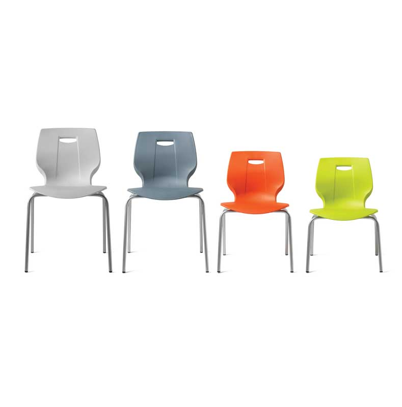 Geo Chair available in four sizes