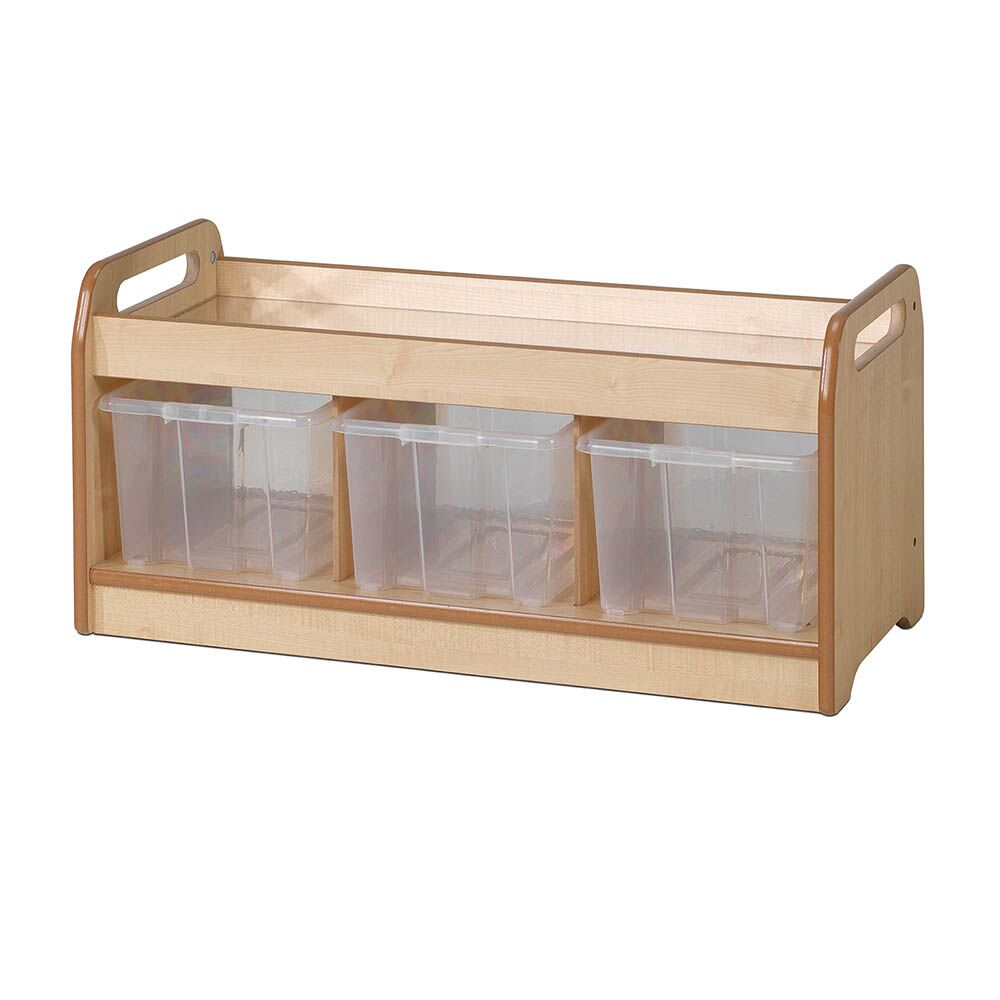 Playscapes Mirror Play Unit with Clear Tubs
