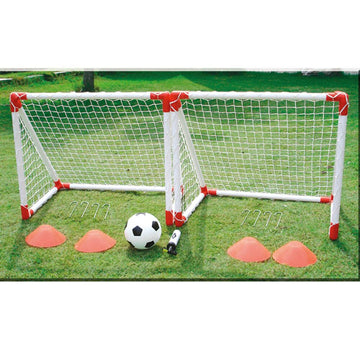 Mini Football Goal Play Complete Set 78 x 68cm