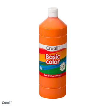 Orange CREALL Poster Paint 1 Litre