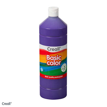 Violet CREALL Poster Paint 1 Litre
