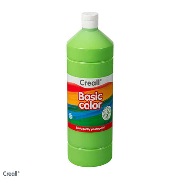 Light Green CREALL Poster Paint 1 Litre
