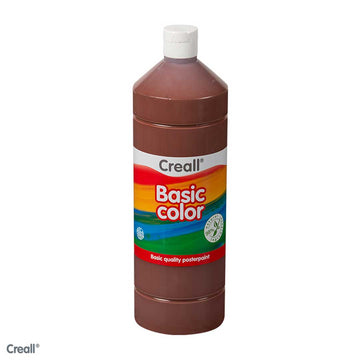 Light Brown CREALL Poster Paint 1 Litre