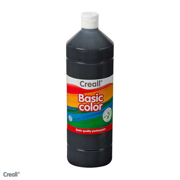 Black CREALL Poster Paint 1 Litre