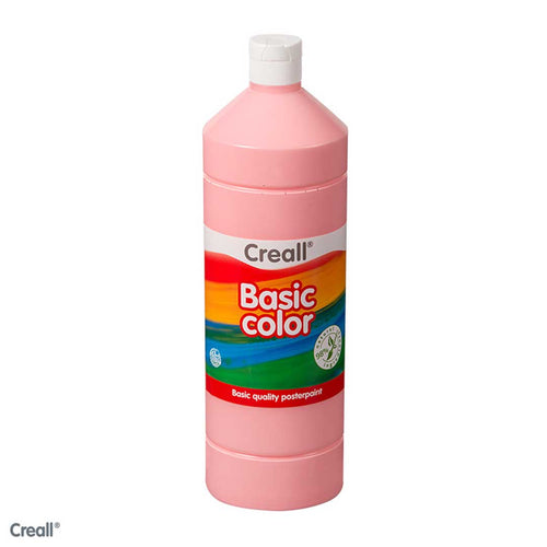 Pink CREALL Poster Paint 1 Litre