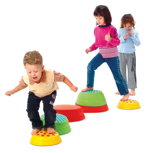 Coloured Stepping Stones 6pcs