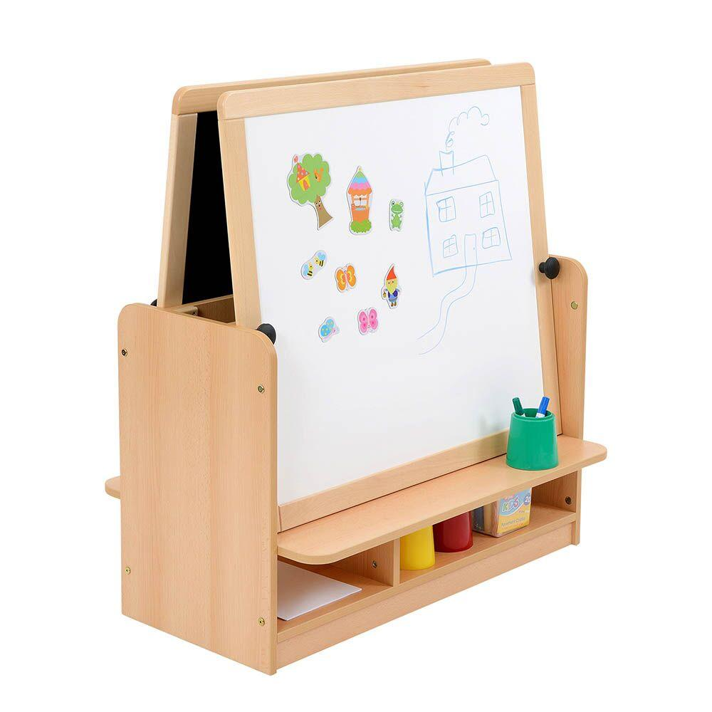 Room Scenes Double Easel with Storage