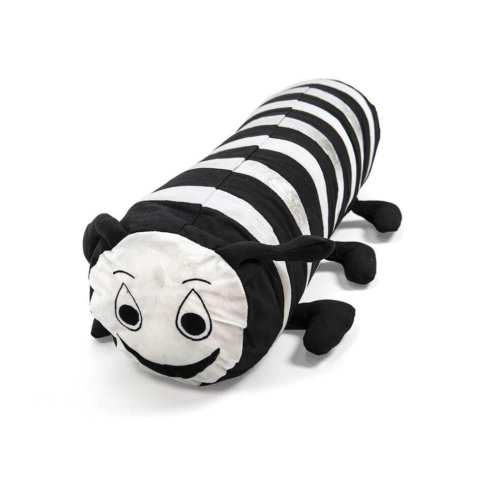 Black and White Bolster Cushions 2pk