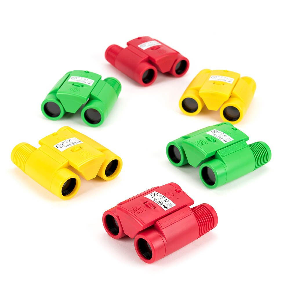 See and Speak Recordable Binoculars 6pk