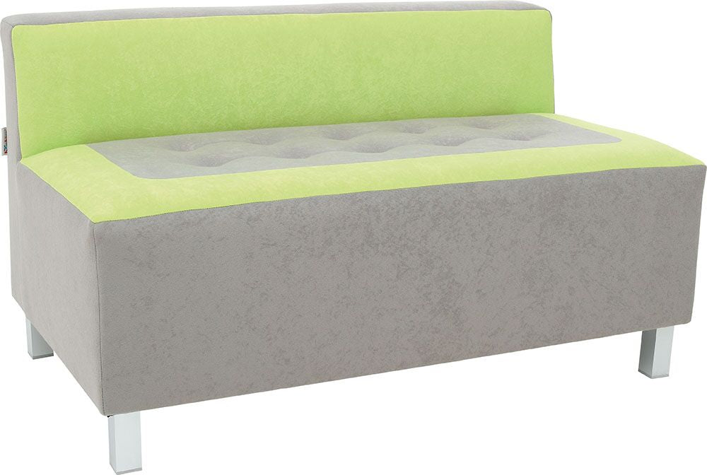 Premium sofa, grey-green