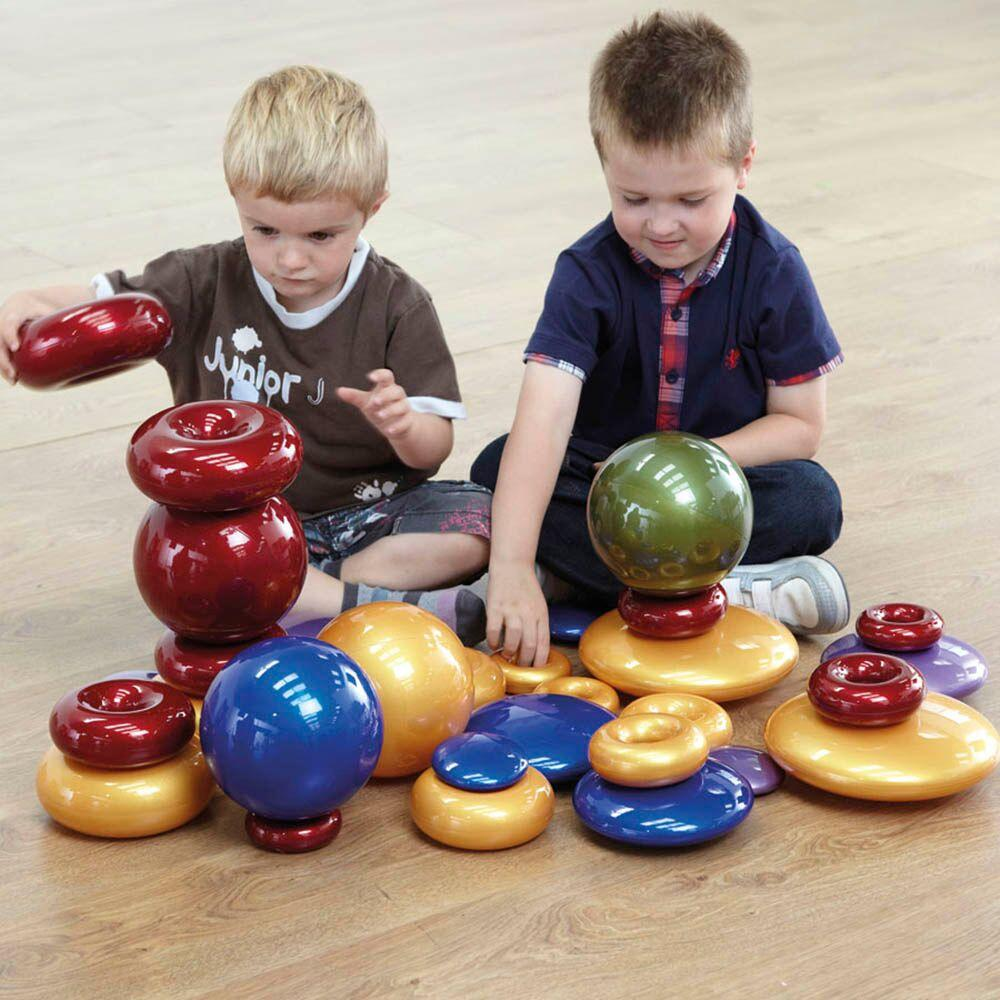 Metallic Pebbles, Donuts and Spheres Special Offer