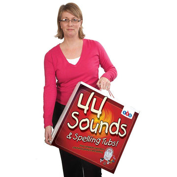 44 Sound and Spelling Phonics Tubs