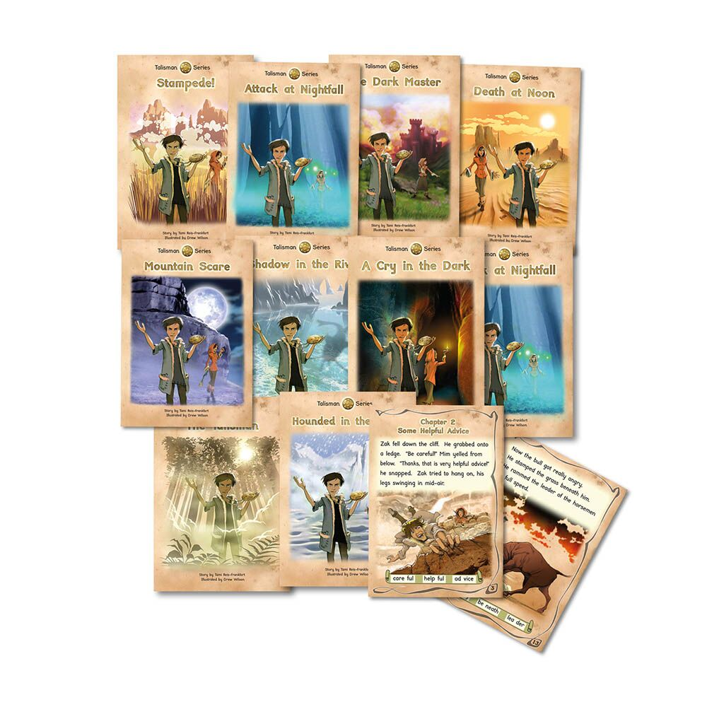 Talisman Phonic Reluctant Readers Book Packs 10pk