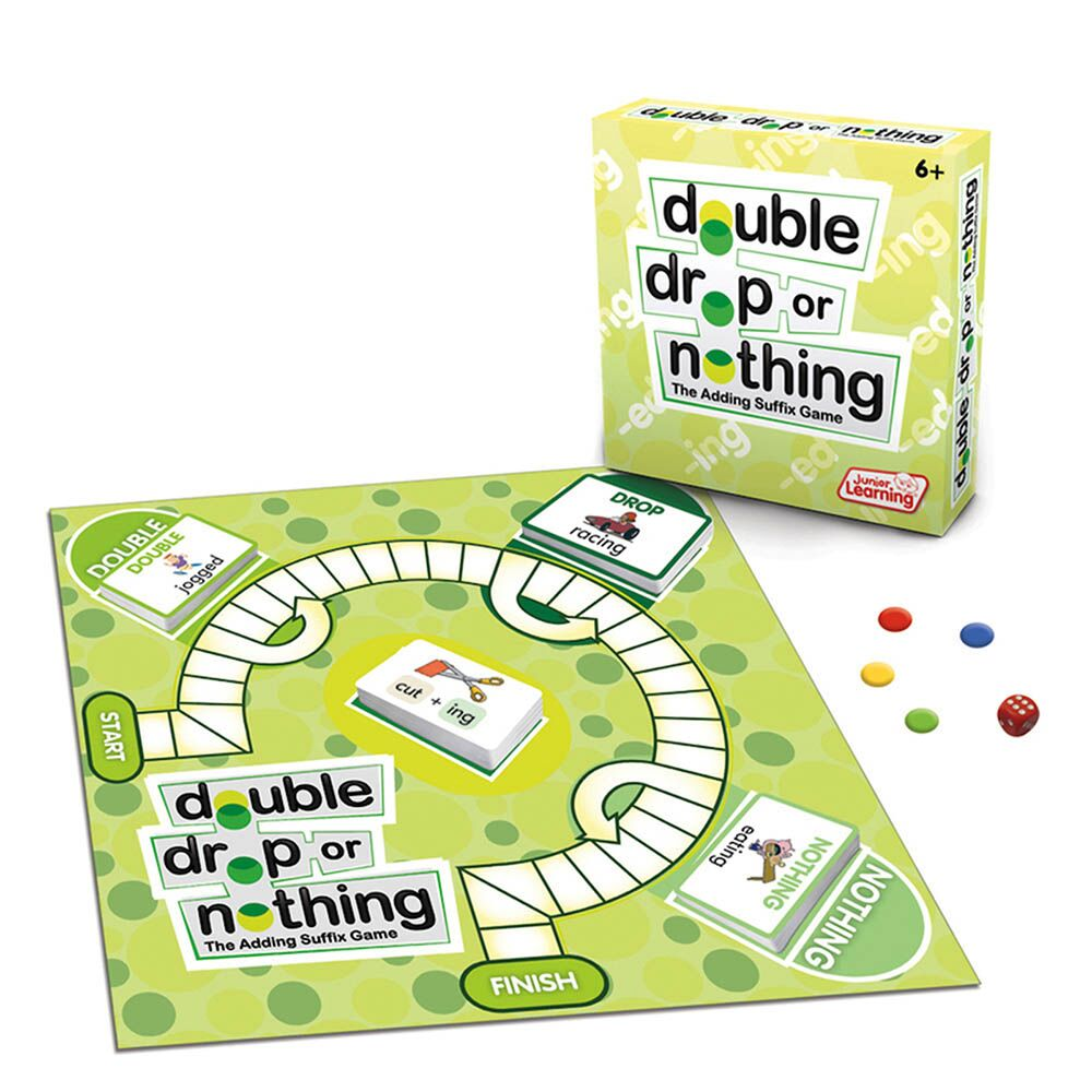 Double, Drop or Nothing Board Game
