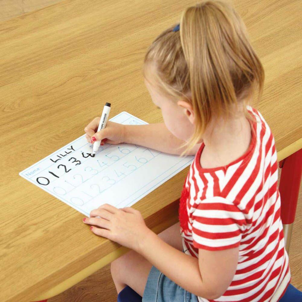 0-9 Number Formation and Tracing Whiteboards 30pk